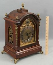 Antique Winterhalder Hofmeier German Black Forest Westminster Chime Mantle Clock
