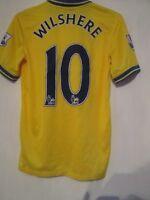 Arsenal Wiltshere 2013-2014 Away Football Shirt Size Small /43401