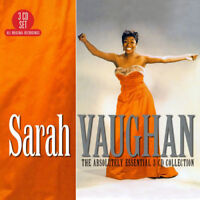 Sarah Vaughan : The Absolutely Essential Collection CD Box Set 3 discs (2017)