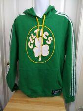 Boston Celtics Adidas Men's XXL 2XL Pullover Sweatshirt Shamrock Hoodie Green