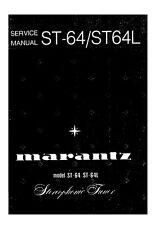 Service Manual-Anleitung für Marantz ST-64