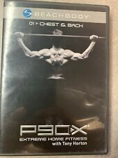 P90X Chest & Back Replacement DVD Disk O1 Mint In Box! Tony Horton Extreme