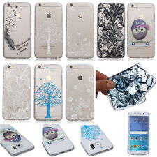 Housse Etui Coque Cover Souple Silicone Ultraslim Protection Pour Samsung Motif