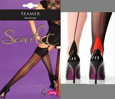Seamed Line Tights or Stockings Burlesque 40's 50's Seamer Vintage Retro SizeM&L