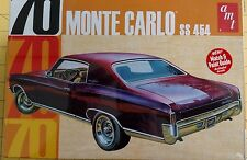 AMT 1/25 '70 Monte Carlo SS 454 Plastic Model Kit AMT928/12