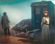 Tom Baker - Louise Jameson, (Doctor Who) Dual Hand Signed 10 X 8 Photo.