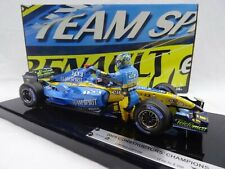 Wow extremadamente raro Renault 2005 R25 Alonso ganador China Champion 1:18 Hot Wheels