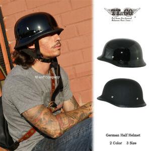 TT&CO Japan Half Face Helmet Soldiers Style Ladle Helmet Half Motorbike Unisex