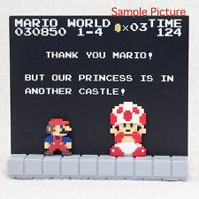 Super Mario Bros. Stage Figure 1-4 Nintendo Dotgraphics JAPAN NES FAMICOM