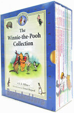 The Winnie the Pooh Collection by A A Milne 10 Book Hardcover Box Set (2017)