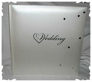 Wedding Photo Album Boxed  Traditional interleaved Gift, Any Occasion