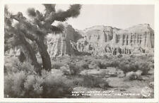 Red Rock Canyon CA * White House Cliff  RPPC * Frashers Fotos  Kern Co.