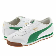 MEN'S PUMA ROMA '68 OG 370601-02 WHITE AMAZON GREEN DS BRAND NEW