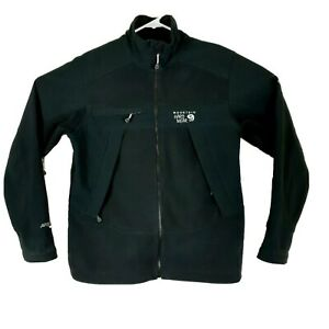 Mountain Hardwear Polyester Logo Jacket Black Soft Shell Airshield-  Men's Small