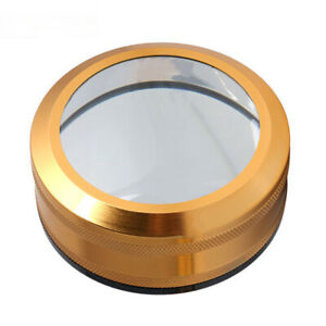 3X-3.5X Optical Convex Lens Circle Magnifier Optical Desktop Magnifying Glass