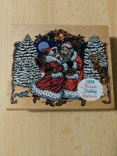 Cynthia Lysonski Rubber Stamp  by Inkadinkado Michaels Holiday Exclusive 1999