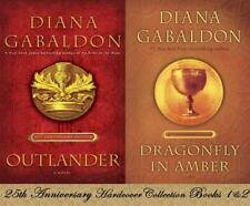 Diana Gabaldon Starz OUTLANDER HARDCOVER ANNIVERSARY COLLECTOR'S SET Books 1-2