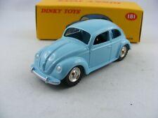 Volkswagen en bleu clair Dinky toys neuf neuf dans sa boîte