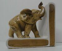 Lefton Japan Ceramic Elephant Bookend (1 Only) Vintage Circa 1960's