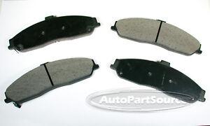 New Disc Brake Pad Set for Corvette GTO XLR