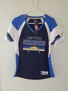 Majestic NFL SAN DIEGO CHARGERS  LOGO V-Neck Jersey Womens