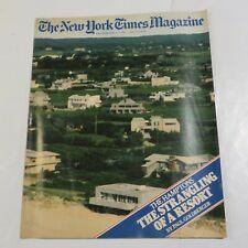 New York Times Magazine September 1983 The Hamptons PE