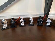 Star Wars Custom Brick Model MiniFigure Darth Vader Stormtrooper Ren Fit Lego