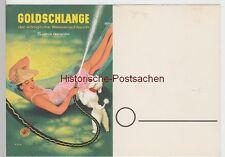 "(111255) Publicité-AK Tuyau Arrosage ""goldschlange"" V. paguac 1940er"