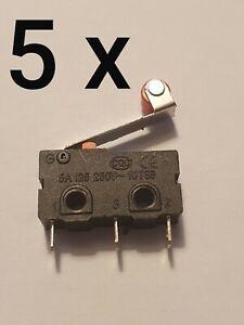5 x Micro switch Limit Sensor Auto Switch