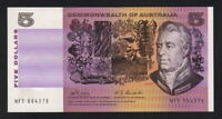 Australia R-203.  (1969) Five Dollars -  Phillips/Randall..  aUNC..