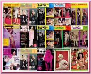 Female Mimics Magazine - PDF Format - 130 Magazines – Download - Transgender