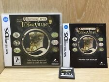 Professor Layton and the Curious Village Nintendo DS Game Boxed with Manual