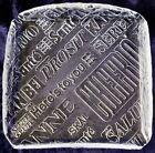 Vintage Royal Krona Bengt Edenfalk Crystal Square Cheese Platter 19cm