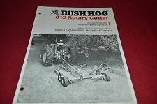 Bush Hog 310 Rotary Cutter Dealer's Brochure YABE10
