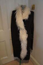 Galliano knitted cardigan coat sz S