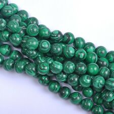 Wholesale 20Pcs Malachite Natural Gemstone Round Spacer Loose Beads 8MM #1