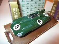 Rennwagen racing car Jaguar D-Type Win Le Mans 1955 Hawthorn #6, BRUMM 1:43 box!