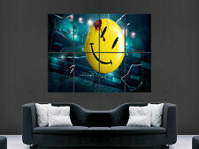 WATCHMEN SMILEY FACE  ART WALL LARGE IMAGE GIANT POSTER