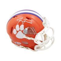 Isaiah Simmons Autographed Clemson Tigers Mini Football Helmet - BAS COA