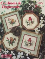Cardinals & Dogwoods for Counted Cross Stitch Book 76 1992 Redbird Designs