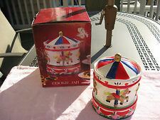 CONTINENTAL PRIDE CAROUSEL HORSE'S CERAMIC COOKIE JAR / NEVER USED