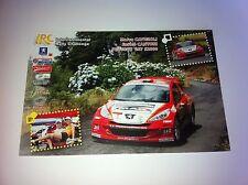CP POSTCARD CARTOLINA PEUGEOT 207 CAVIGIOLI WRC RALLY RALLYE 2007
