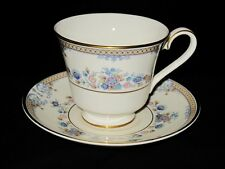 Minton AVONLEA S767 Royal Doulton, Footed Cup and Saucer Set