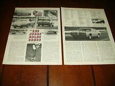 1969 PONTIAC GTO THE JUDGE ***ORIGINAL ARTICLE / SPECIFICATIONS***
