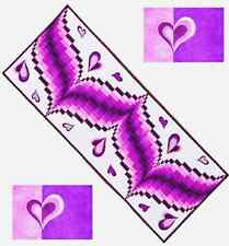 New Pattern  HEART SONG Table Runners and Placemats Grizzly Gulch