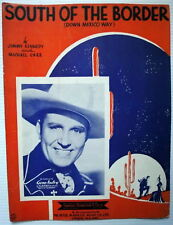 GENE AUTRY Sheet Music SOUTH OF THE BORDER