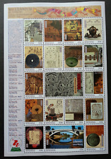 Micronesia Millennium Ancient China Science & Technology 1999 2000 (sheetlet MNH