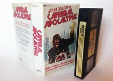 PRE CERT CANNIBAL APOCALYPSE VPD REPLAY VIDEO DPP39 NASTY VHS PAL