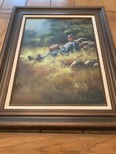 Lloyd Garrison Oil Soilder Painting
