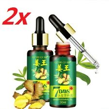 7 Days Hair Growth Care Ginger Dry Damaged Hair Essential Oil Nourishing